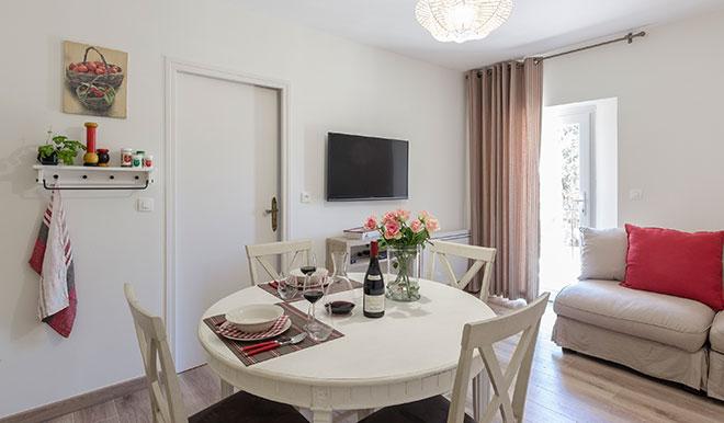 Wohnküche Bastide de Bringairet