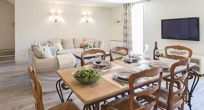 Living room Bastide de Bringairet